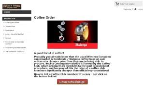 kohvitellumus